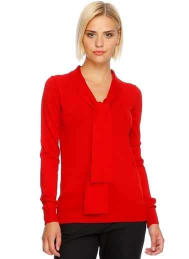 Beymen Studio Triko Bluz Kırmızı